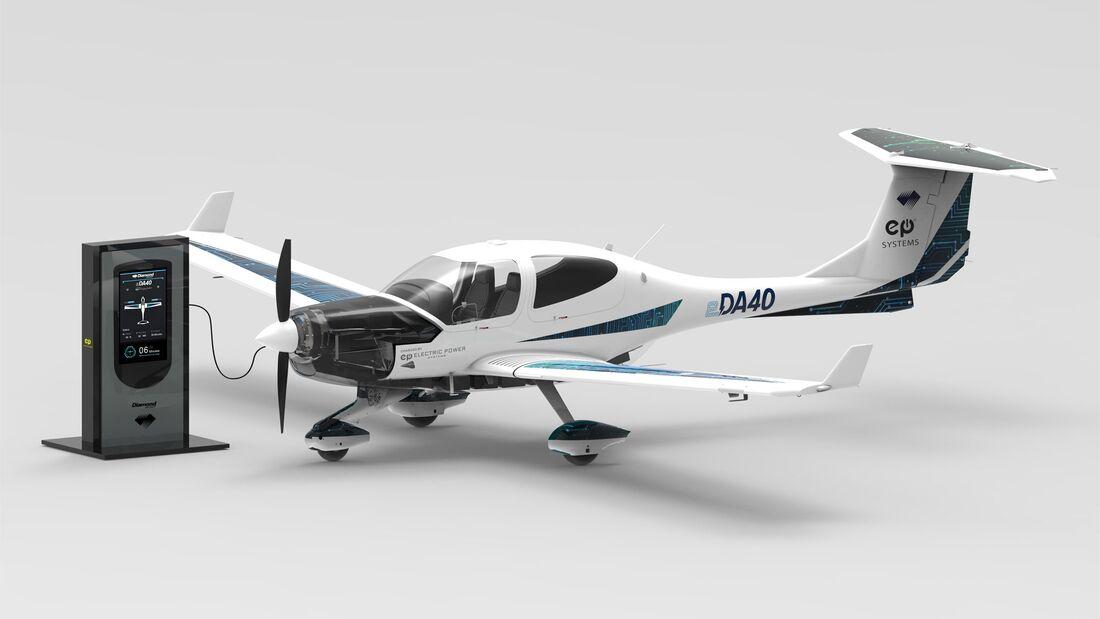 Die Diamond eDA40 wird ein elektrisch angetriebenes Schulflugzeug.