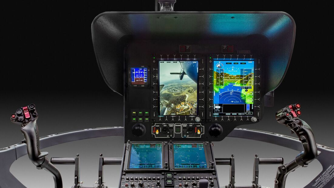 Helionix-Ausstattung der Airbus Helicopters H135.