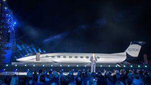 Präsentation Gulfstream G700 am 21. Oktober 2019 in Las Vegas