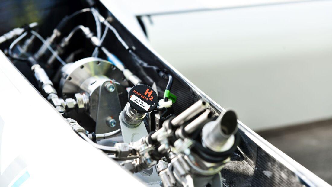 So sieht sie aus: eine Brennstoffzelle des DLR-Forschungsflugzeugs HY4